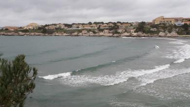 Surf report FR, Plage du Verdon (13) du 2010-04-03 16:00:00