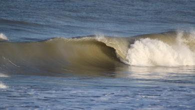 Surf report FR, Soulac - L'Amélie (33) du 2010-04-05 08:30:00