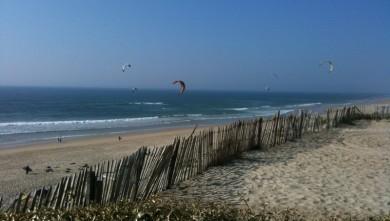 Surf report FR, Biscarrosse Plage (40) du 2010-04-10 17:34:00