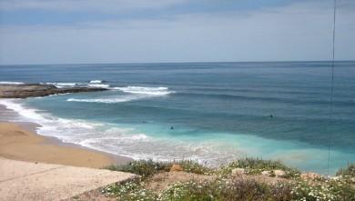 Surf report MA, Imsouane - Cathédrale (MA) du 2010-04-12 11:30:00