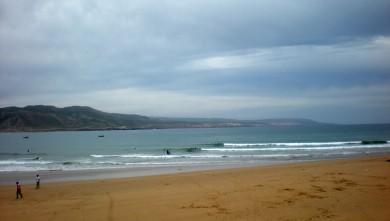 Surf report MA, Baie d'Imessouane (MA) du 2010-04-19 12:30:00
