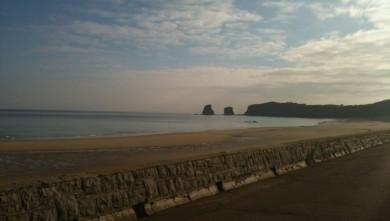 Surf report FR, Hendaye (64) du 2010-04-24 09:00:00