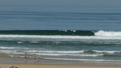 Surf report FR, Mimizan - Plage Garluche (40) du 2010-04-28 12:30:00