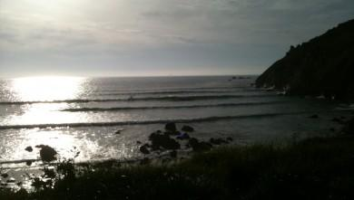 wave report FR, La Baie des Trépassés (29) du 2010-04-28 20:49:00