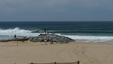 Surf report FR, Mimizan - Plage Garluche (40) du 2010-05-09 14:20:00