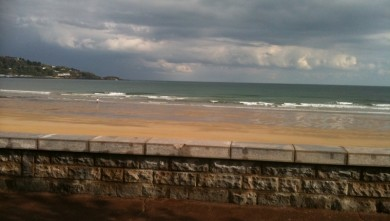 Surf report FR, Hendaye (64) du 2010-05-14 09:00:00