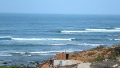 Surf report MA, Imsouane - Cathédrale (MA) du 2010-05-17 10:30:00