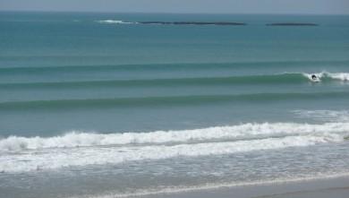 Surf report FR, Plage des Dunes (85) du 2010-05-21 15:20:00