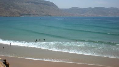 wave report MA, Baie d'Imessouane (MA) du 2010-05-23 12:30:00