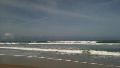 Surf report FR, Hourtin Océan - La Centrale (33) du 2010-06-02 10:00:00