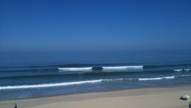 Surf report FR, Hourtin Océan - La Centrale (33) du 2010-06-04 10:23:00