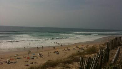wave report FR, Biscarrosse Plage (40) du 2010-06-27 17:00:00
