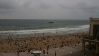 Surf report FR, Biarritz - Grande Plage (64) du 2010-07-02 17:00:00