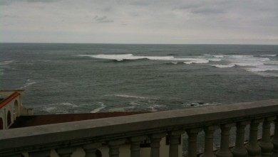 Surf report FR, Guethary Parlementia (64)
