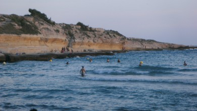 Surf report FR, Plage du Verdon (13) du 2010-07-04 19:30:00