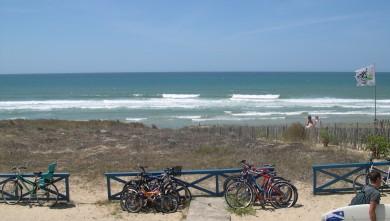 Surf report FR, Lacanau Océan - La Sud (33) du 2010-07-06 18:00:00
