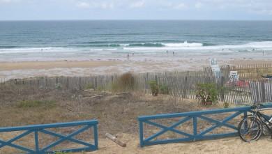 Surf report FR, Lacanau Océan - La Sud (33) du 2010-07-12 14:00:00