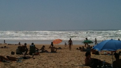 Surf report FR, Mimizan - Plage Garluche (40) du 2010-07-15 16:32:00