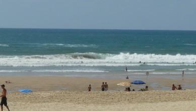 Surf report FR, Mimizan - Plage Garluche (40) du 2010-07-17 16:30:00