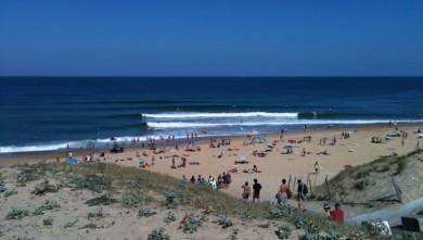 Surf report FR, Vieux Boucau (40) du 2010-07-18 11:13:00