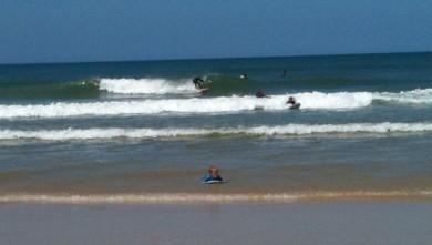 Surf report FR, Mimizan - Plage Garluche (40) du 2010-07-18 12:00:00