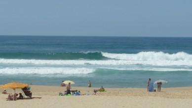 Surf report FR, Mimizan - Plage Garluche (40) du 2010-07-20 14:30:00