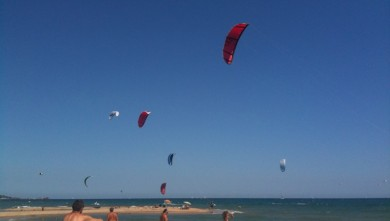 Surf report FR, Saint-Aygulf - Zone Kite (83) du 2010-07-22 15:33:00