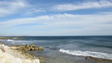 Surf report FR, Sausset les Pins - Plage du Port (13) du 2010-07-24 18:30:00