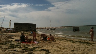 Surf report FR, Plage du Galon d'Or (17)