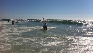 Surf report FR, Biscarrosse Plage (40) du 2010-07-30 18:00:00