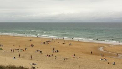 Surf report FR, Biscarrosse Plage (40) du 2010-08-01 16:16:00