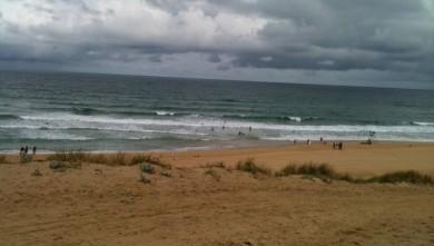 Surf report FR, Mimizan - Plage Sud (40) du 2010-08-04 10:00:00