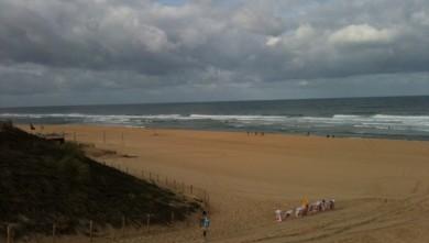 Surf report FR, Cap-Ferret - Plage de L'Horizon (33) du 2010-08-05 09:00:00