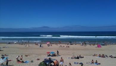 Surf report FR, Biscarrosse Plage (40) du 2010-08-08 11:00:00