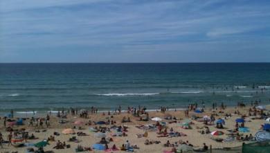 Surf report FR, Mimizan - Plage Garluche (40) du 2010-08-10 15:00:00