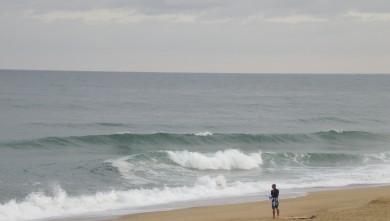 Surf report FR, Vieux Boucau (40) du 2010-08-12 07:45:00