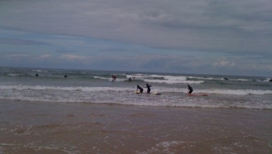 Surf report FR, Vieux Boucau (40) du 2010-08-13 12:40:00