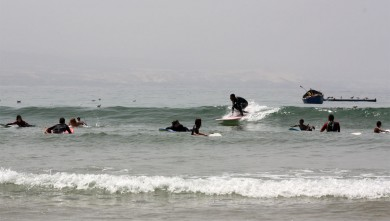 Surf report MA, Baie d'Imessouane (MA) du 2010-08-15 12:30:00