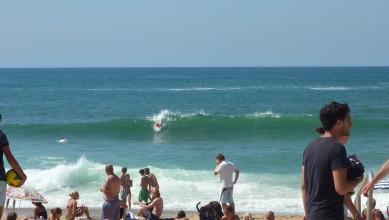 Surf report FR, Biarritz - Grande Plage (64) du 2010-08-20 15:30:00