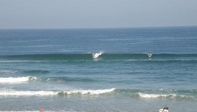 Surf report FR, Vieux Boucau (40) du 2010-08-21 09:35:00
