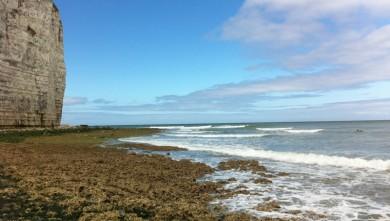 Surf report FR, Yport (76) du 2010-08-23 14:15:00
