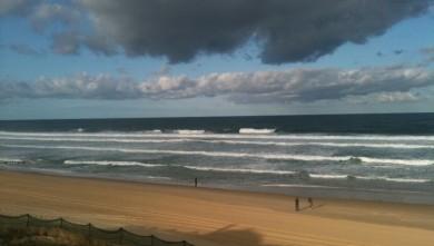 Surf report FR, Mimizan - Plage Garluche (40) du 2010-08-28 09:06:00