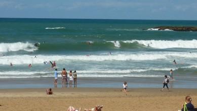 Surf report FR, Biarritz - Grande Plage (64) du 2010-08-28 14:35:00