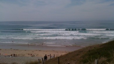 Surf report FR, La Palue (29)