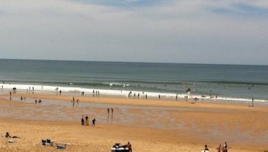 Surf report FR, Lacanau Océan - La Nord (33) du 2010-09-11 14:10:00