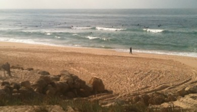 Surf report FR, Lacanau Océan - La Nord (33) du 2010-10-16 14:36:00