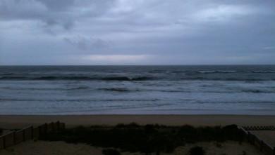 Surf report FR, Mimizan - Plage Garluche (40) du 2010-10-31 08:45:00