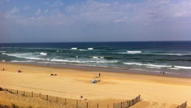 Surf report FR, Mimizan - Plage Garluche (40) du 2011-08-02 10:00:00