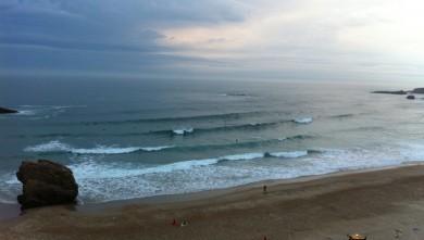 Surf report FR, Biarritz - Grande Plage (64) du 2011-08-05 07:25:00