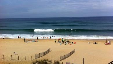 Surf report FR, Mimizan - Plage Sud (40) du 2011-08-06 10:15:00